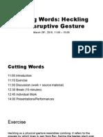 Cutting Words