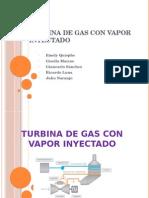 Turbina de Gas Con Vapor Inyectado