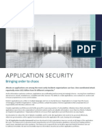 Application Security Exec Summary AW