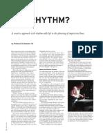 Exploration in Rhythm Berklee