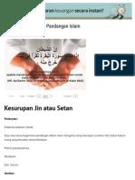 Kesurupan Jin Dalam Pandangan IslamKonsultasi Kesehatan Dan Tanya Jawab Pendidikan Islam