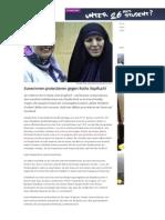 2015-01-27 Besucherin im Iran - Claudia Roth mit Kopftuch