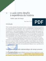 ARAUJO, Valdei Lopes de (a Aula Como Desafio)