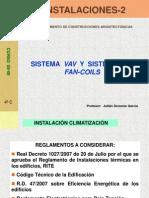 Sistema VAV y Fan-coils