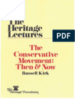 KIRK. The Conservative Movement Then and Now