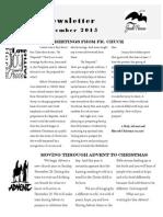 December Emmanuel Newsletter 2015