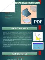 Gases Ideales y Reales Ppt