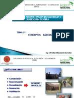 Residencia y Supervision Obras Publicas