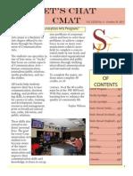 cmat 348- portfolio cmat newsletter