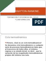 Exposicion Ciclo Brayton Rankine