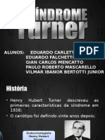 slides sindrome de turner-
