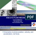 Week 8 Fluid Kinematics