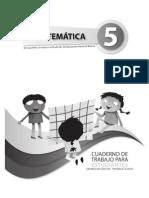 Cuaderno de Trabajo Matematicas 5to