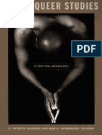 Black Queer Studies - A Critical Anthology -Eds. E. Patrick Johnson & Mae G. Henderson