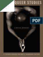Black Queer Studies - A Critical Anthology -Eds. E. Patrick Johnson & Mae G. Henderson