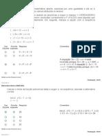Provas Matemática