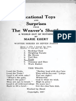 Educational Toys and Surprises From the Weavers Shuttle 1917