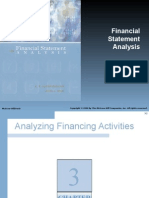Chapter 03 Analyzing Financing Activities