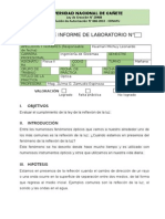 Informe de Laboratorio Optica