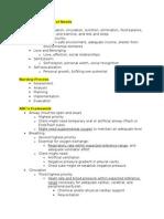 Priority Setting Frameworks