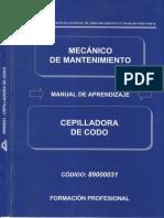 031- Cepilladora de Codo
