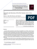 Research and Discovery of the First Human Cancer Virus, HTLV-1