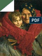 Gaetano Bellei (1857-1922), Nonna e Nipote, Collezione Privata, Olio Su Tela, 65.4 x 44.4 Cm