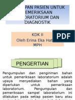 Persiapan pemeriksaan lab dan diagnostik.ppt