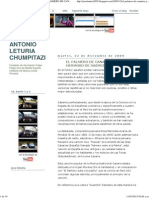 Jose Antonio Leturia Chumpitazi_ El Palmero de Canarias y Angel Hermoso de Madrid