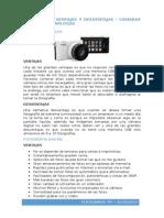 Ventajas y Desventajas de Camaras Digitales y Analogas