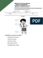 Soal Uas Bahasa Sunda Kelas 1 Smtr 1