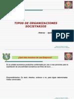 ORGANIZACIONES SOCIETARIAS