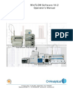 winflow4 , análisis de cianuro - analisis intrumental