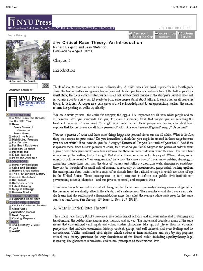 crt | Critical Race Theory | Race (Human Categorization ...