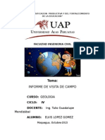 5.-Informe de Campo - Elvis Joel Lopez Gomez