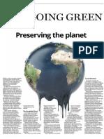 Going Green - 6 December 2015
