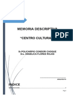 Memoria Descriptiva Policarpio
