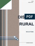 Bocatoma - DISEÑO RURAL