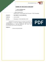 Informe Las Profundidades - Ladislao Roque Quito