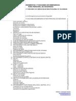 Procedimientos y Funciones de Emergencia Para Personal de Seguridad