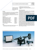 spectrometer experiment