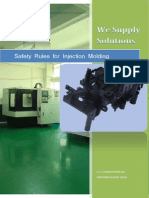 Safety Rules for Molding Department