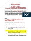 dr  oslers technology competency and skills assessment 1