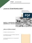 La Biotecnologì