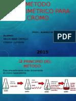 Método Colorimétrico Para Cromo Expo Para El Sabado