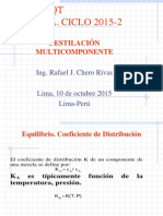 Destilaciónn multicomponente