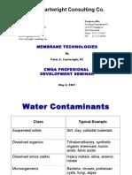 Membrane Technologies