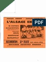 Recueil - L'Alsace en Fête (16 Dances Alsaciennes)