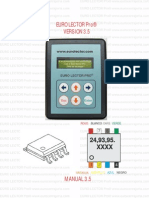 Manual Euro Lector Pro Version 3.5