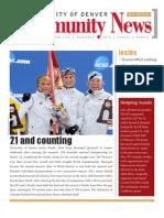 April 2010 Community News